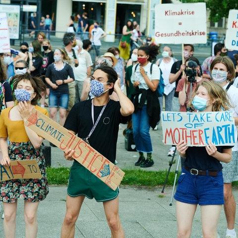 "Protest von ""Fridays for Future"" in Berlin"