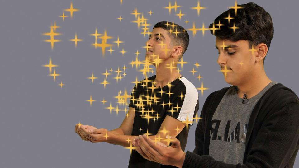 Eine Hand voller Sterne