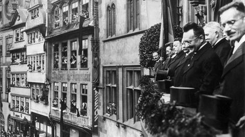 Originalaufnahmen aus der Weimarer Republik