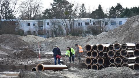 Ausgrabung in Wiesbaden-Bierstadt