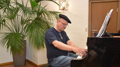 Wolfgang Löll, Pianist und Komponist aus Offenbach