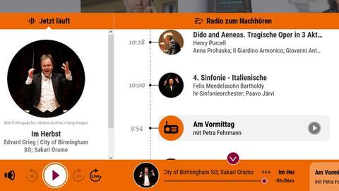 Der hr2-kultur-Webradio-Player im neuen Gewand