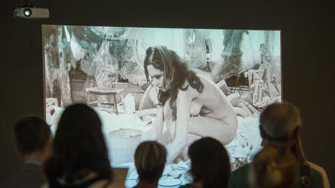 Carolee Schneemann im Museum für Moderne Kunst Frankfurt
