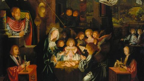 Bartholomäus Bruyn d. Ä., Geburt Christi