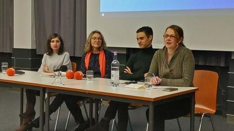 Gilda Sahebi, Esther Shapira, Meron Mendel, Maria Coors