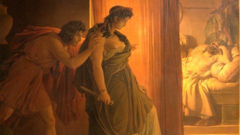Agamemnons Ermordung, Bild von Pierre Narcisse Guérin