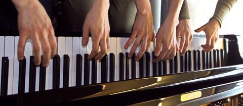 Hände Klavier