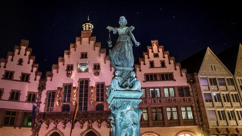 Römer Fassade Frankfurt