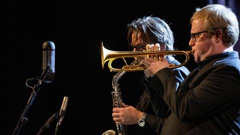 Melodic Ornette - hr-Bigband featuring Joachim Kühn & Michel Portal - Heinz-Dieter Sauerborn und Axel Schlosser