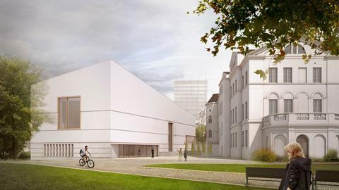 Computer-Darstellung Jüdisches Museum Frankfurt