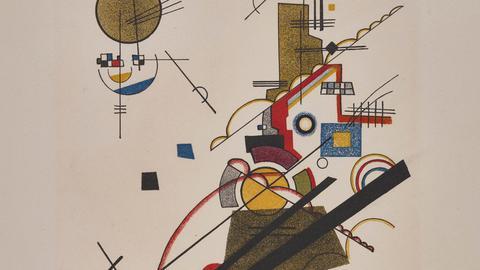 Wassily Kandinsky: Fröhlicher Aufstieg, 1923
