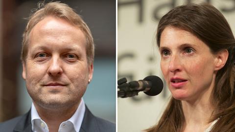 Thilo Krause und Daniela Danz