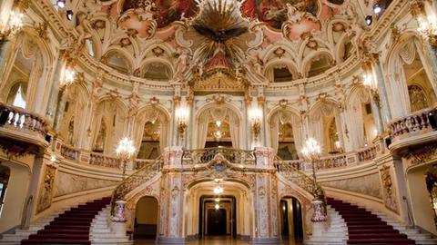 Foyer des Staatstheaters Wiesbaden