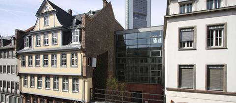 Außenansicht Goethehaus