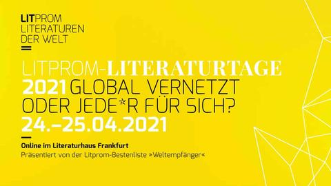 Litprom Literaturtage 2021