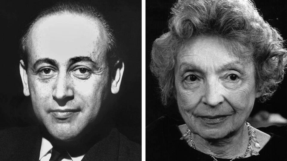 Nelly Sachs und Paul Celan