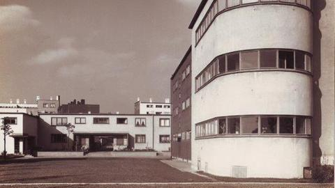 Siedlung Römerstadt, um 1928