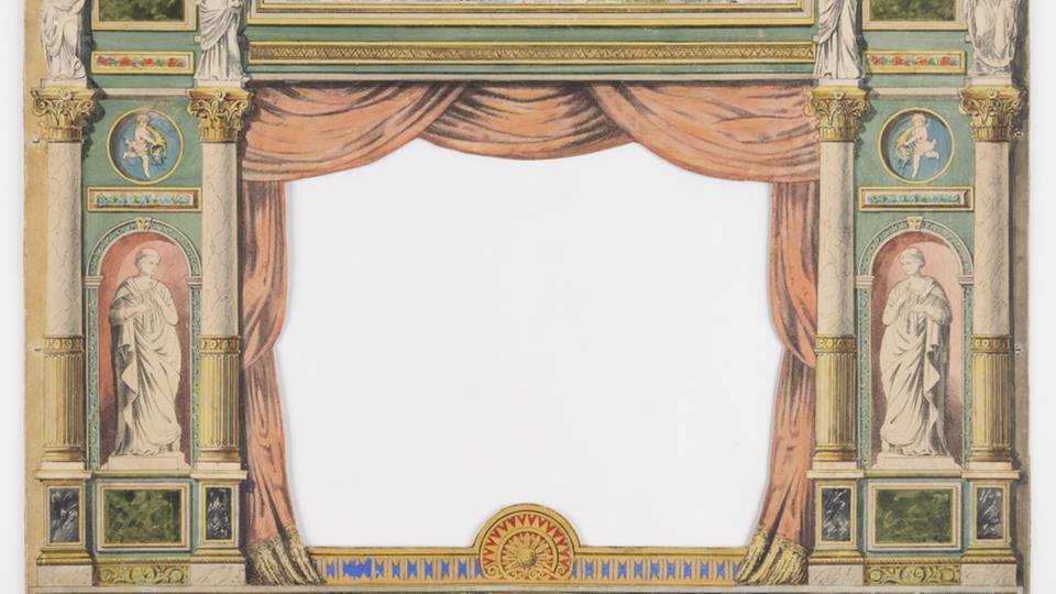 Haustheater der Familie Wolf, von 1895