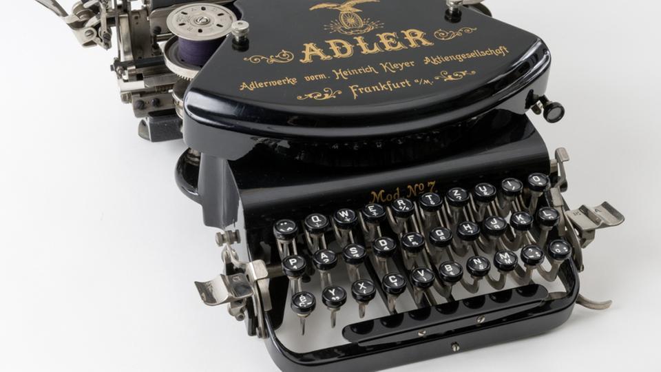 Schreibmaschine Adler 7, 1924-25