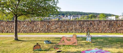 hr2-KulturVerFührung: 5. Skulpturen-Triennale Bingen