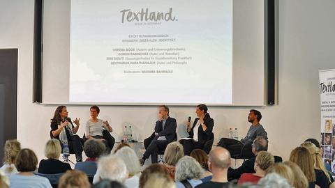 Diskussion Textland. Made in Germany 2019