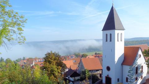 Ortsteil Hering von der Veste Otzberg